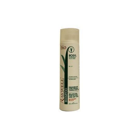 Raywell Shampoo equilibrante cute grassa capelli secchi bio 250 ml