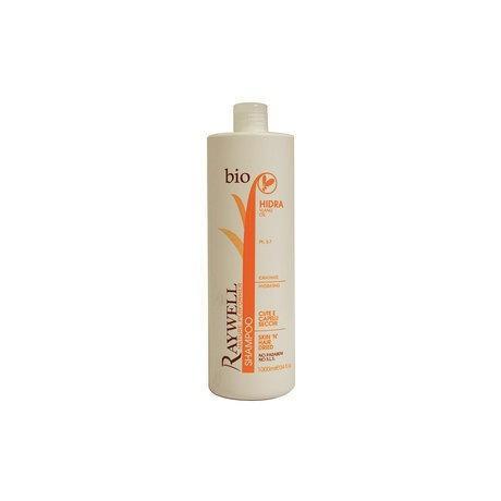 Raywell Shampoo cute e capelli secchi bio 1000 ml