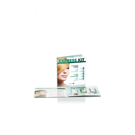 Ing Express kit: shampoo 10 ml,olio 10 ml,attivatore 10 ml