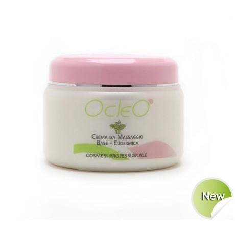 Ocleò Crema da Massaggio Base-Eudermica 500 ml