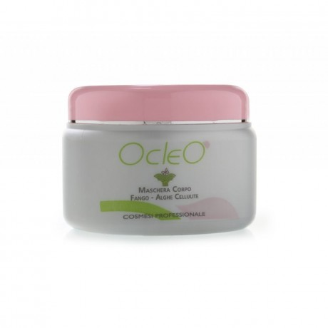 Ocleò Maschera Corpo Fango-Alghe Cellulite 500 ml