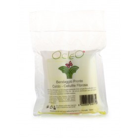 Ocleò Bendaggio Pronto Caldo/Cellulite 2 Bende da 7 mt-200 ml
