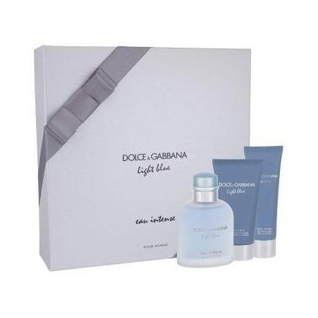 Dolce & Gabbana Light Blue Eau Intense Uomo Confezione Regalo