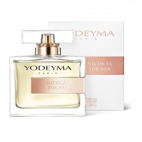 Yodeyma  Nicolas for her 100 ml eau de parfum