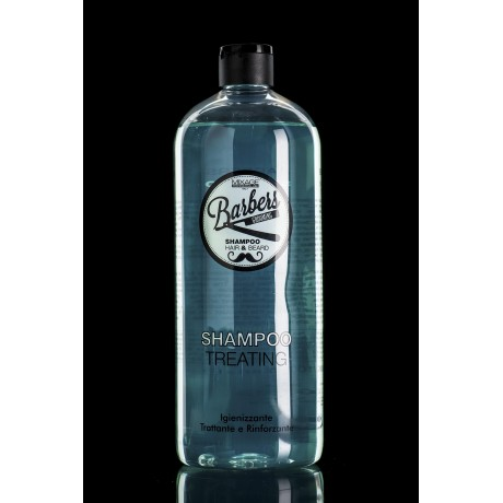 Barbers Hair Shampoo Treating uso frequente professionale 1000 ml