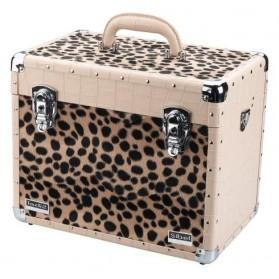 Valigetta Beauty case Crocco Leopard