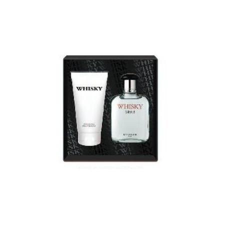 Whisky silver eau de toilette 100ml & after-shave balm 150ml