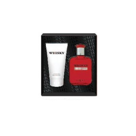 Whisky Red eau de toilette 100ml & after-shave balm 150ml