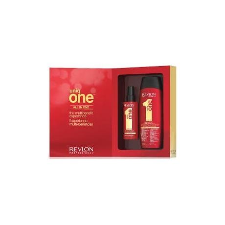 Revlon Kit Shampoo Piu' Uniq  One Crema
