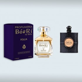 Profumo BèRì Follia Donna 100 ml Ispirato a Black Opium di Yves Saint Laurent
