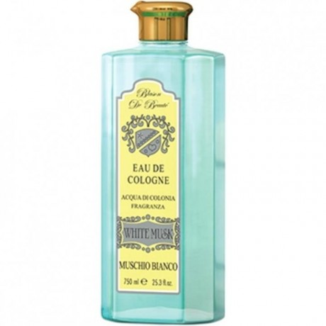 Acqua di colonia al muschio bianco 750 ml Rudy since 1920