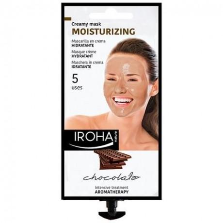 Maschera idratante al cacao e burro di karitè Iroha nature