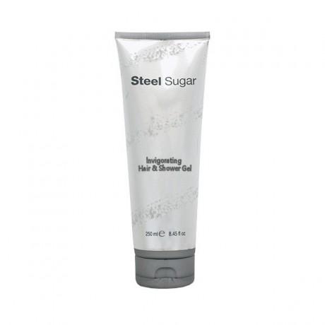 Steel Sugar Invigorating hair & shower gel Aquolina 250  ml