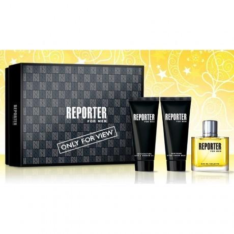 Reporter For men Confezione Regalo edt  75 ml.
