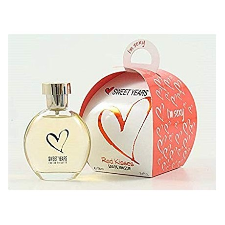 Sweet Years Red Kisses edt 100 ml.