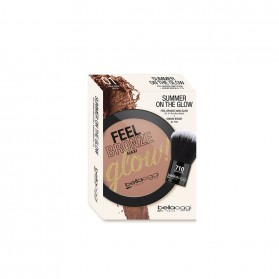 Bellaoggi Feel Bronze Maxi Glow! + Pennello Kabuki Brush N°710 Bora Bora Beach 01