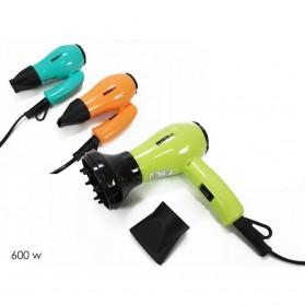 DictroLux Mini Asciugacapelli Pieghevole con 2 Diffusori 600W