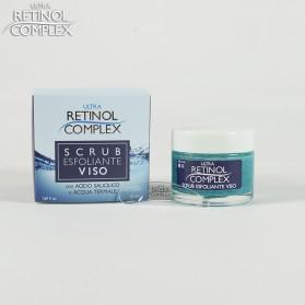 Retinol Complex Scrub Esfoliante Viso con ACIDO SALICILICO e ACQUA TERMALE 50 ml