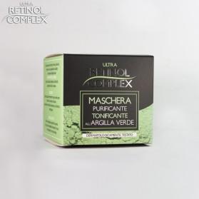 Retinol Complex Maschera PURIFICANTE TONIFICANTE all'ARGILLA VERDE 50 ml