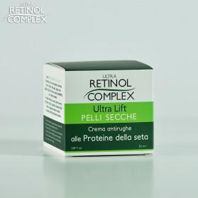 Crema antirughe per PELLI SECCHE con PROTEINE DELLA SETA 50 ml