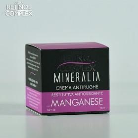 Retinol Complex CREMA ANTIRUGHE con MANGANESE Restitutiva Antiossidante 50 ml