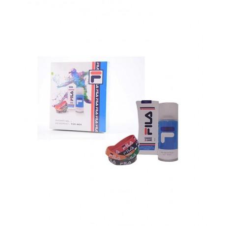 FILA for Men Shower Gel 300 ml + Deodorante 150 ml + Bracciali FILA