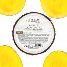 SkinSystem Latte Vellutante Cocco & Mango 200 ml