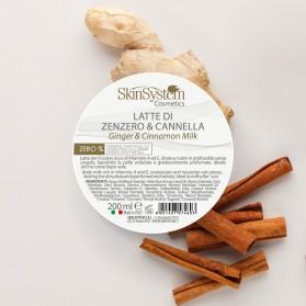 SkinSystem Latte Vellutante Zenzero & Cannella 200 ml