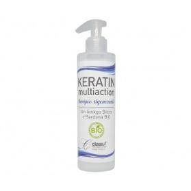Class Keratin Multiaction Shampoo Rigenerante con Aloe Vera BIO 250 ml