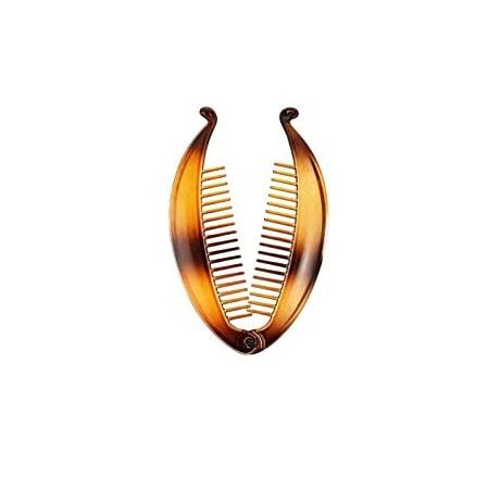 Pesce Marrone in Plastica per Capelli 1 pezzo