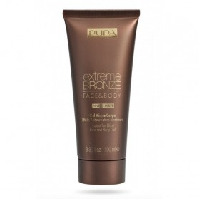 Pupa Extreme Bronze Face & Body 002 Dark Skin 100 ml - Autoabbronzante