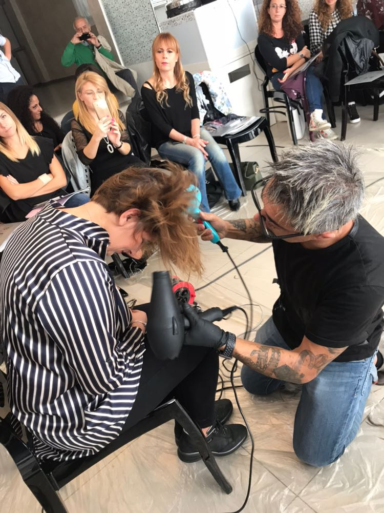 corso professionale parrucchieri-piega